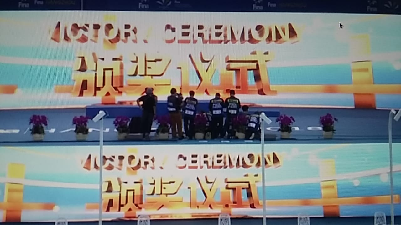 WSC-SC day2 - Victory Ceremony