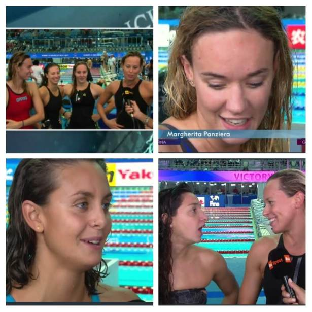 4x100 medley relay_roadtotokio/collage screenshot RAI