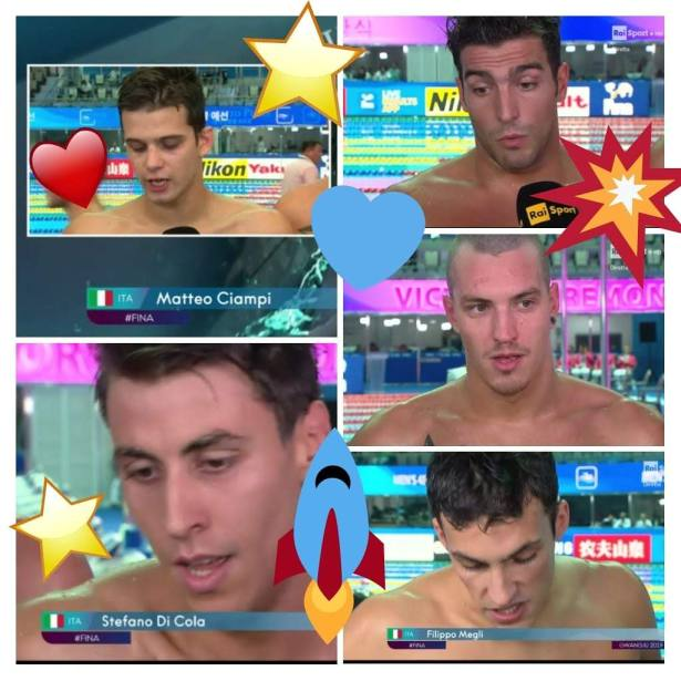 4x200 sl stellare / collage screenshot RAI