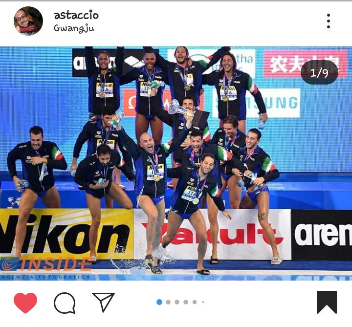7bello_campionedelmondo_Corea2019/screenshot instagram andrea staccioli
