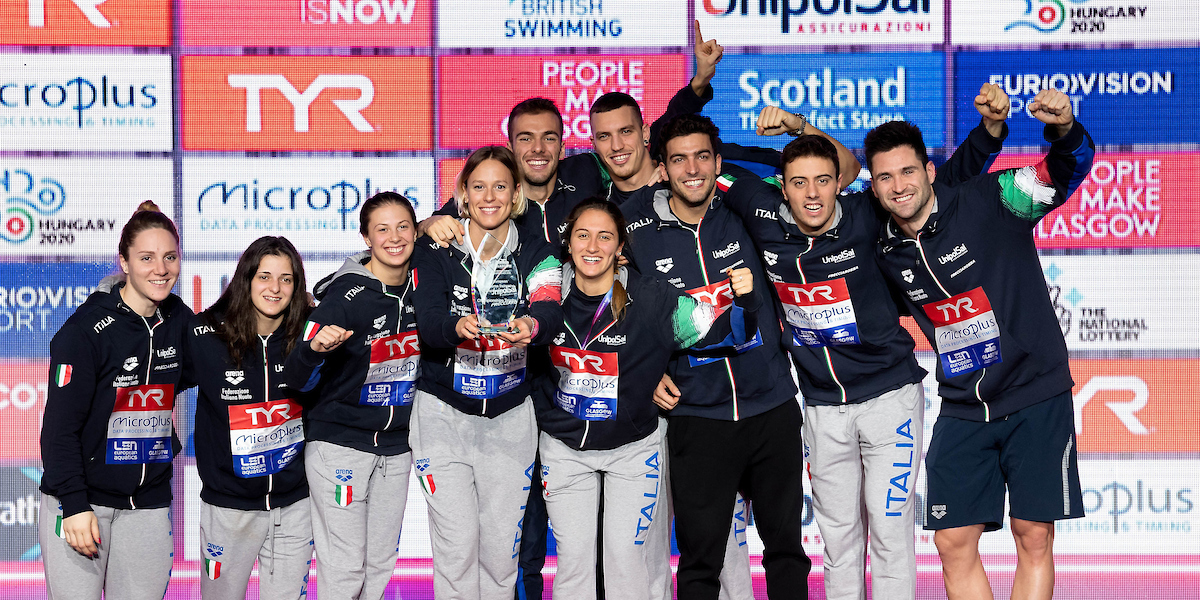 XX LEN European Short Course Swimming Championships